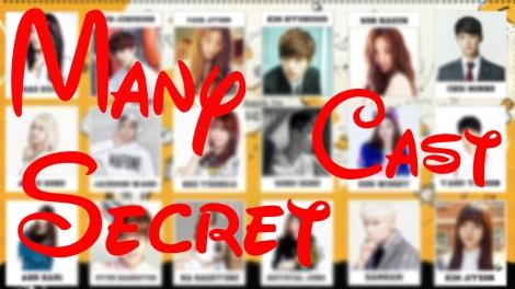 Many Secret Cast