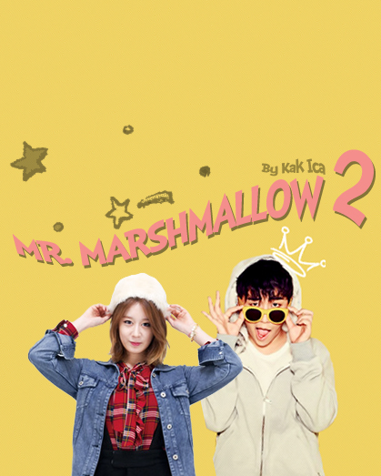 MR MARSHMALLOW 2 POSTER