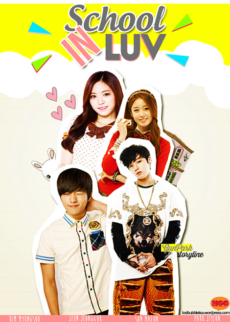 School In Luv Poster 3B