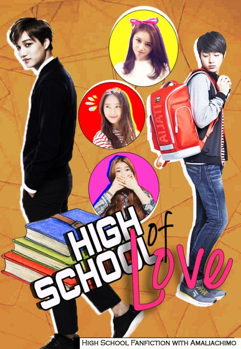 POSTER HIGH SCHOOL OF LOVE